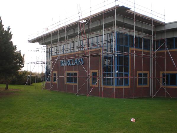 Barclays bank Scaffold Hire Birmingham West Midlands