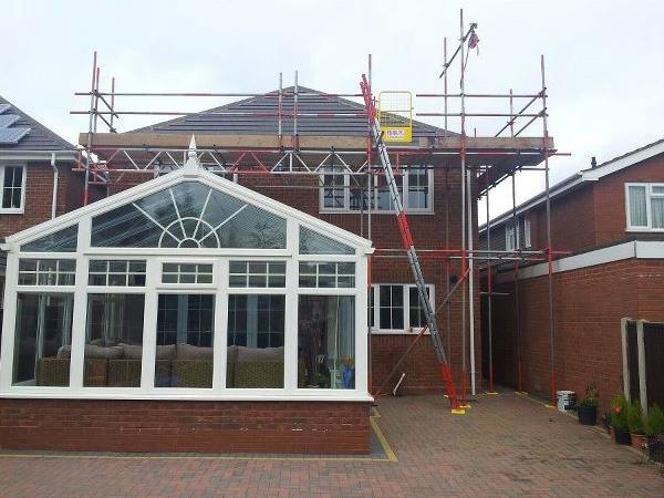 Beam span scaffolding hire Birmingham West Midlands