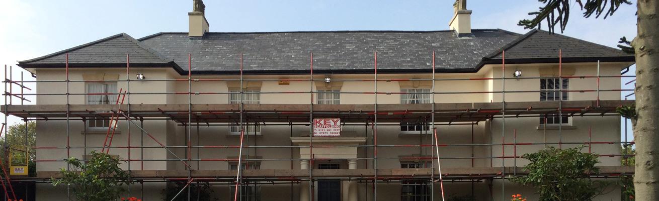 domestic scaffolding Key Caffold Ltd Birmingham West Midlands