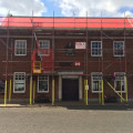 Scaffolding hire for HSBC Midlands