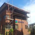 Scaffolding hire for Lloyds TSB in Birmingham West Midlands